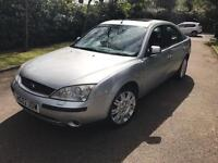 FORD MONDEO GHIA X 40k 2002 AUTO FULLY LOADED SILVER ALLOYS LEATHER