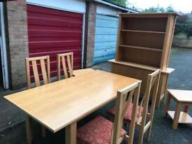A modern dining room suite can deliver