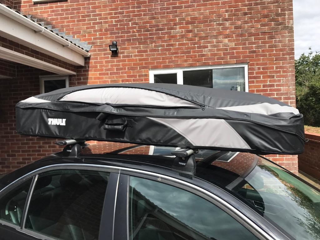 thule ranger 500 roof box in royal wootton bassett. Black Bedroom Furniture Sets. Home Design Ideas