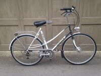 "Ladies 22"" Gazelle 'Tour De France' 7 speed with internal brakes, serviced."