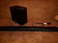 NB2540 LG 2.1 Ch 120W Soundbar with Wired Subwoofer