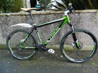 trex 6300 six series mountain bike,Truvativ fsa,shimano rockshock and hub,,