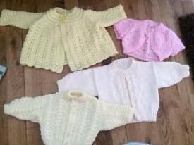 Newborn size cardigans £3