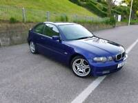 BTW 318TI 2.0. 96k. 2003/53 MOT March 19. Private Plate Included