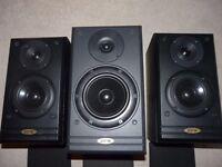 Set of 3 jpw speakers
