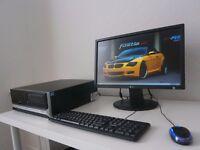 RM 2100TCPU---i3 ---DESKTOP+LG 22 INCH MONITOR LCD
