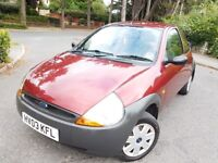 MY LOVELY 2003 FORD KA 1.2 PETROL FOR SALE,48 000 MILES,1 OWNER,MOT,TAX AND SERVICE HISTORY