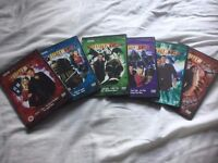 Selection of Doctor Who older series DVDs