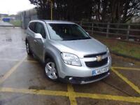 Chevrolet Orlando Ltz Vcdi (silver) 2013