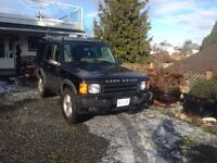 For sale 2002 LANDROVER DISCOVERY 2