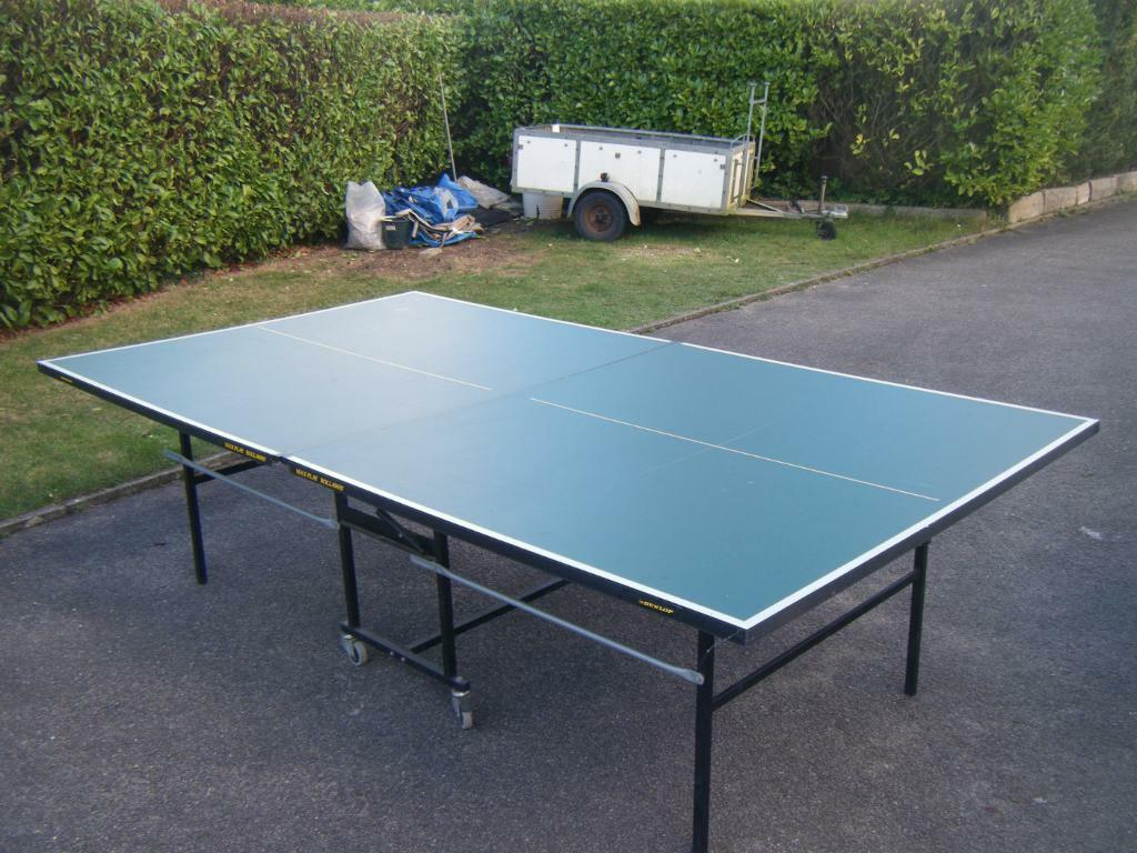 Dunlop maxplay rollaway table tennis table in norwich norfolk gumtree - Gumtree table tennis table ...