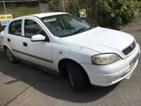 Vauxhall Astra LPG spare or repair