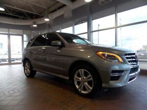 2014 Mercedes-Benz M-Class ML350BT 4MATIC, toit ouvrant, Xénon,