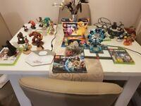 Huge Xbox360 bundle loads included, games, headset, figures, charger station