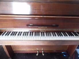 upright piano by leswien
