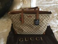 GUCCI LARGE TOTE BAG, Authentic