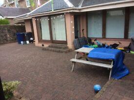 4 + bedroom house with gardens for rent greenock esplanade