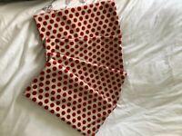 Polka dot cushion covers