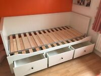 Ikea single day bed - converts to double bed
