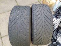 Bridgestone s02 tyres x2 245/40 r18