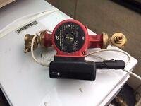 Boiler and Pump