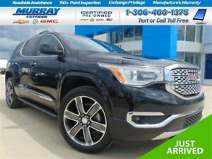2017 GMC Acadia Denali *Dual Panel Moon Roof! *NAV! *All Options