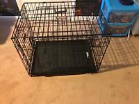 Large dog cage. KONG