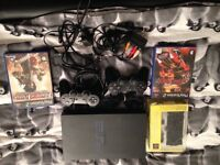 Ps2 2 controllers and 2 games