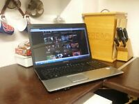 """mint condition HP7 17.3"""" Widescreen Laptop"""