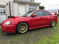 2004 Subaru Impreza WRX 2.0 turbo