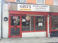 Pizza shop for sale in the hart of Luton