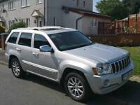 Jeep Grand Cherokee 3.0 CRD overlander automatic
