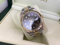 Men's Rolex Datejust II Swiss ETA 2836