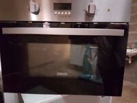 Microwave Oven - Zanussi ZKC38310XK built in combination microwave oven