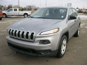 2014 Jeep Cherokee Sport - LOW KILOMETERS!! FINANCE NOW!!