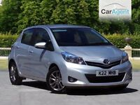 Toyota Yaris Icon VVT (2014), 1 owner, reversing camera, cruise control, £500 deposit £166 a month