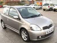 TOYOTA YARIS 1.5 T SPORT 3 DR PETROL,HPI CLEAR,1 OWNER,FULL TOYOTA SERVIC/H,2 KEYS,SUNROOF,ALLOYS,AC
