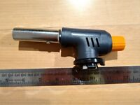 NEW: Gas torch with piezo igniter (blow torch)