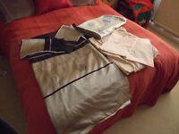 Duvet cover set, double, sheet, pillow cases and runner.
