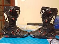 SIDI Vortice Air racing boot black SIZE 9-EUR 43