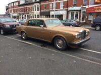Rolls Royce silver shadow 2 1980 auto honey gold 84000