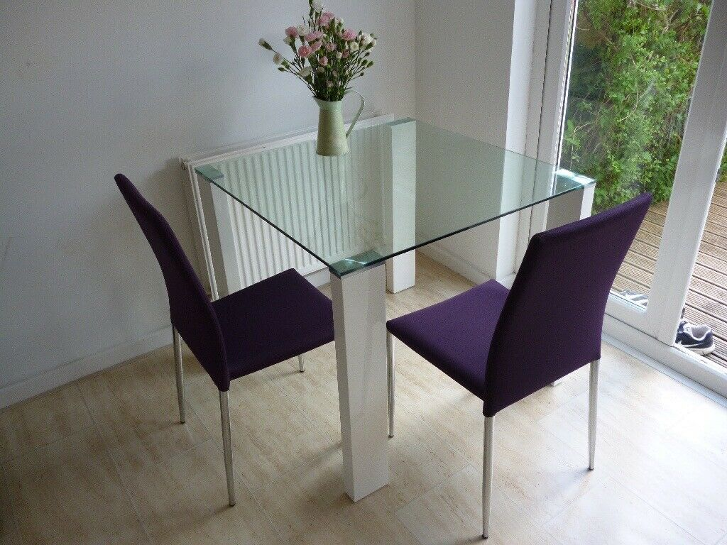 Cadiz Dining Chairs As Sold In Fairway Furniture X 2 Purple In Colour