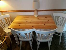 Solid pine Farm house table