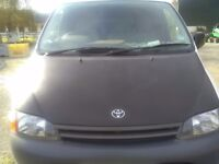 2001 Toyota hi ace lwb Van