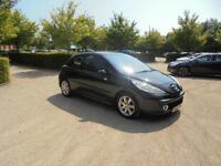 Peugeot 207 Sport 3dr (black) 2007