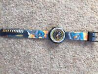 Kids 'Flik Flak' Batman Watch