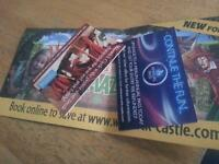 Warwick castle tickets