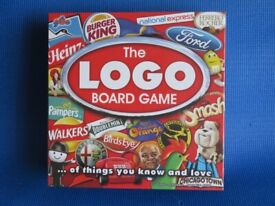The Logo Board Game Brand New Manufacturer Sealed