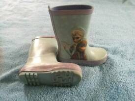 Girls wellies, size 7