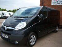 Vivaro Sportive Crew Van In Stunning Metallic Black